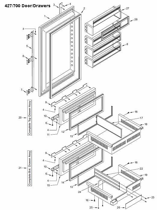 Sub-Zero Parts Refrigerator Part Replacements - SubZero Refrigerator on